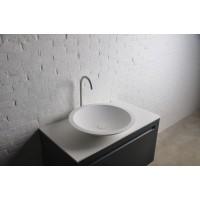 Умывальник Volle Solid surface 13-40-856 51,5x10,5см, накладной, каменный