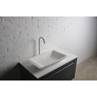 Умывальник Volle Solid surface 13-40-859 59,5x34,5x10,5см накладной, каменный