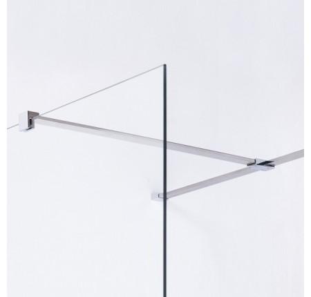 Держатель стекла Volle 18-05F-80 (F) с креплениями, 800мм