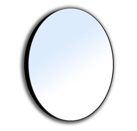 Зеркало Volle 16-06-905 60x60 см, на стальной крашенной раме, черного цвета