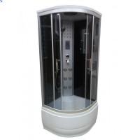 Гидромассажный бокс Atlantis Fresh ALK1325P 80x80x215 черный / белый