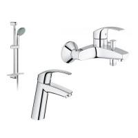 Набор для ванной комнаты Grohe Eurosmart 123246М