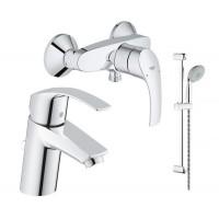 Набор для ванной комнаты Grohe Eurosmart 123244S