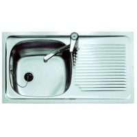 Мойка для кухни Teka Universal 800.440 1B 1D RHD 30000072 матовая