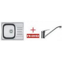 Мойка для кухни Franke Polar PXL 611-60 101.0265.026 + смеситель Narew 35
