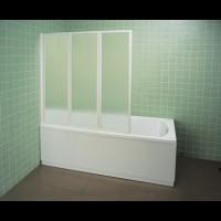Шторка для ванны Ravak VS3-115 белый rain (795S010041)