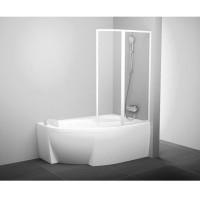 Шторка для ванны Ravak VSK2 Rosa 140 L/R rain